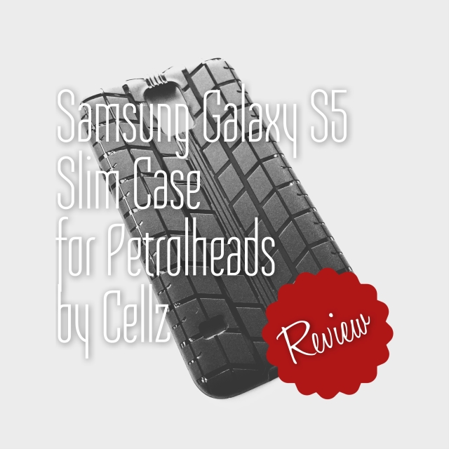 Samsung Galaxy S5 Tyre Line Case – Perfect for PetrolHeads