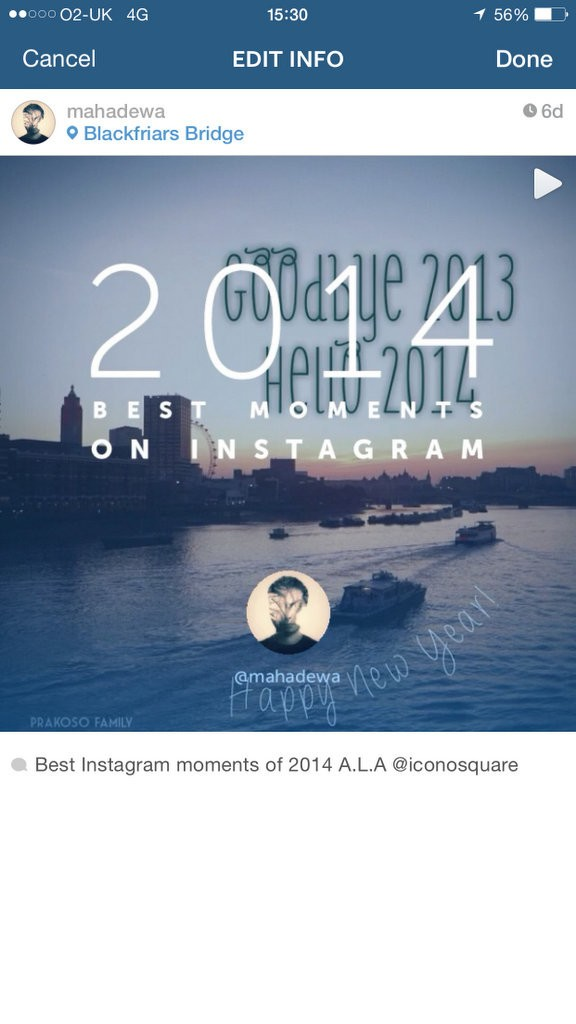 How to Add Location to your Instagram Photo or Video after you have already posted it