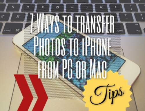 7 Ways to transfer photos to iPhones from desktop PC/Mac