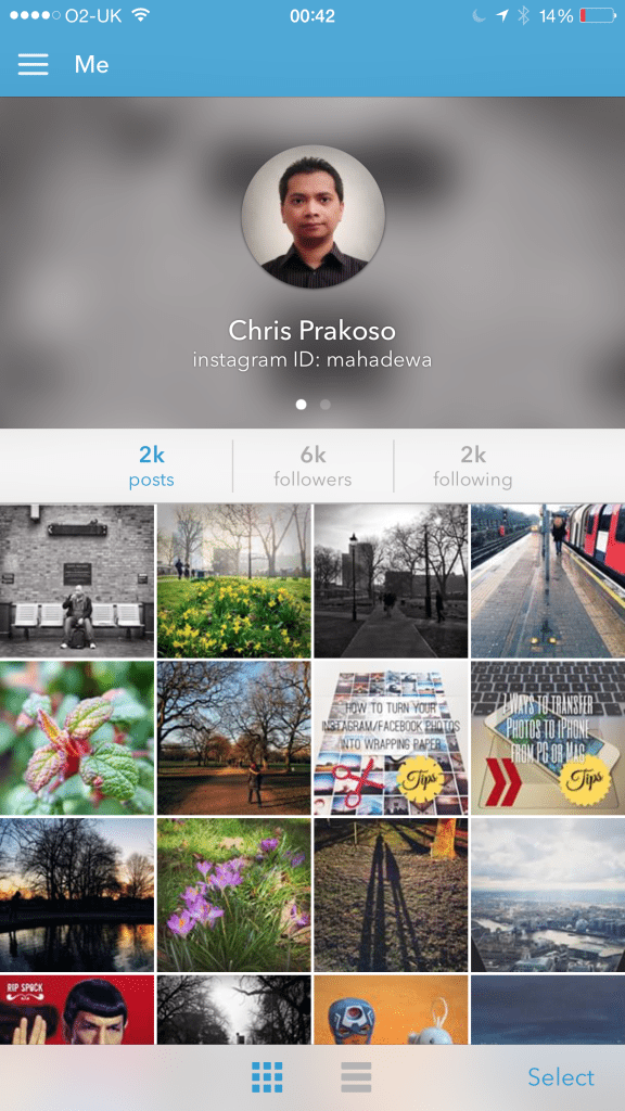 Instagrab My Profile