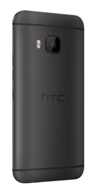 HTC M9 black - Back Lateral