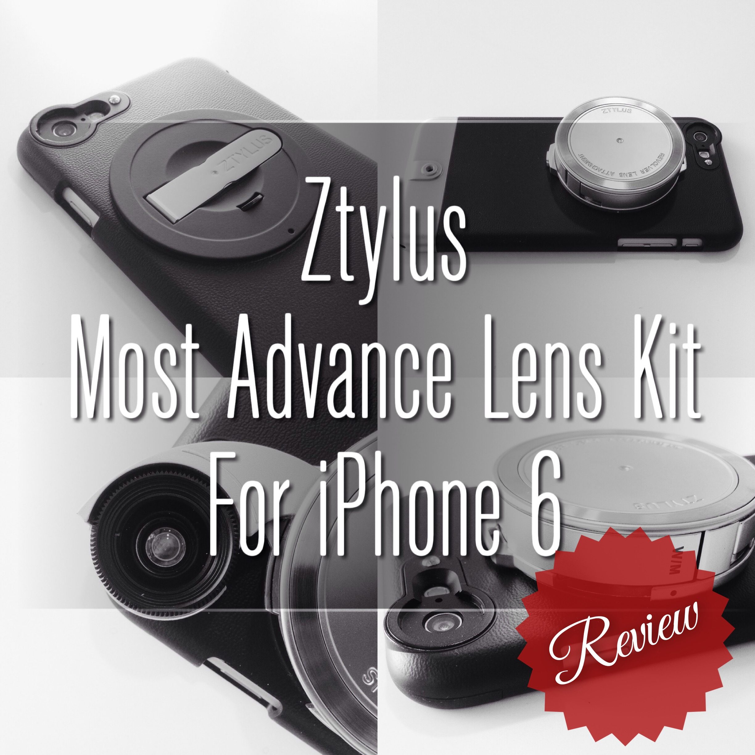 Ztylus - Most Advance Lens Kit for iPhone 6/6 Plus