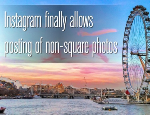 Instagram has finally given in and allows posting of portrait and landscape photos