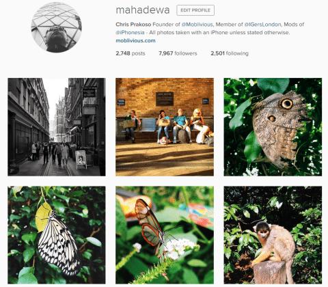 @Mahadewa Instagram Profile