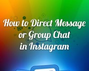 How To Direct Message or Group Chat in Instagram