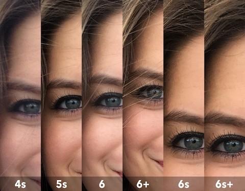 iPhone 6s Photo Comparisons