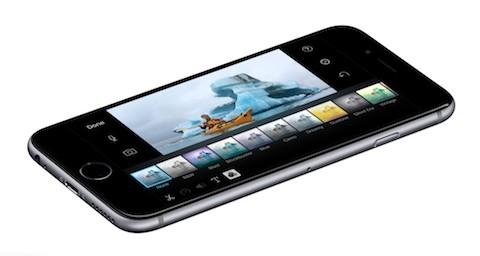 iPhone 6s iMovie