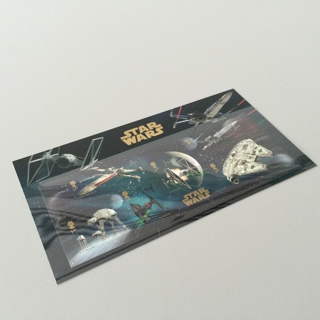 Star Wars The Force Awakens Commemorative Stamps