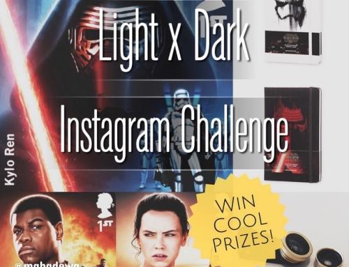 Instagram Challenge – LIGHT X DARK – Star Wars The Force Awakens