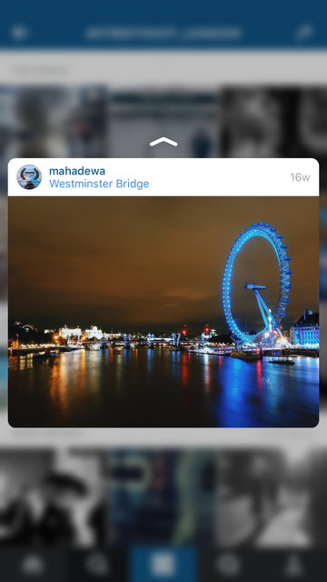 Have a Peek at your Instagram Profile Page.