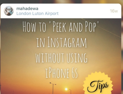 How to do 'Peek and Pop' in Instagram if you don't have the iPhone 6s