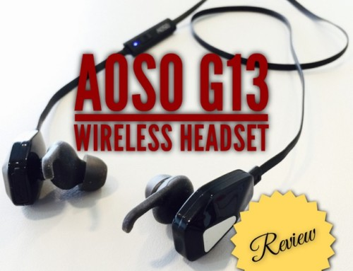 Hands-On Review – AOSO G13 Wireless Headset
