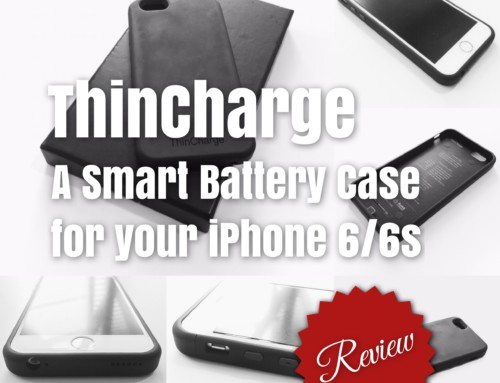 Thincharge – a Smart iPhone battery case for the power hungry Pokemon Goers