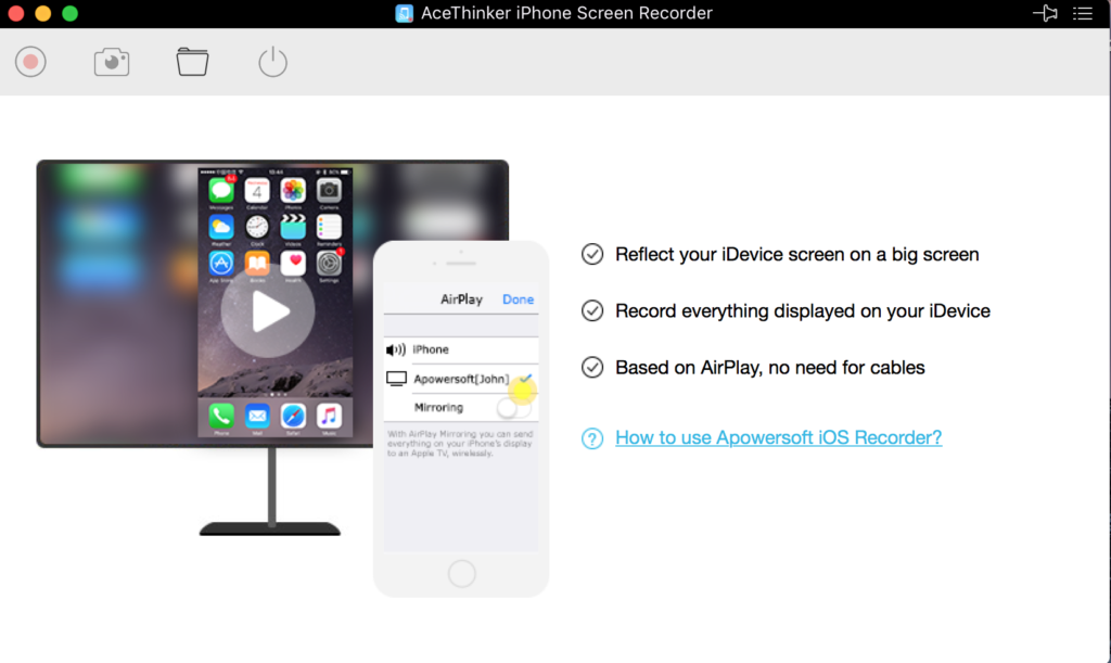 AceThinker iOS Screen Recorder
