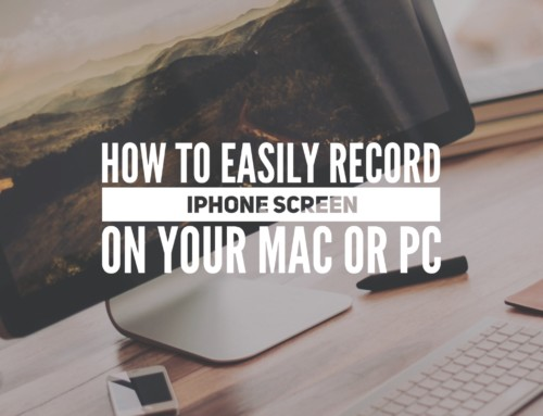 How to Easily Record iOS Screen on your Mac or PC + Giveaway